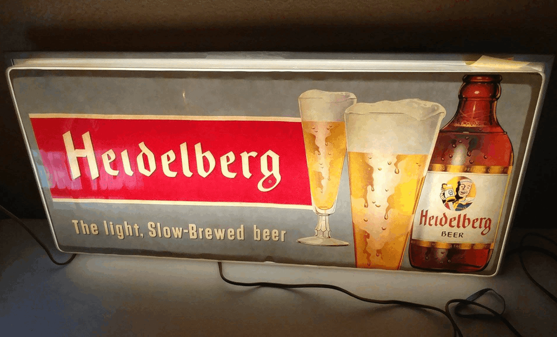 Heidelberg beer sign